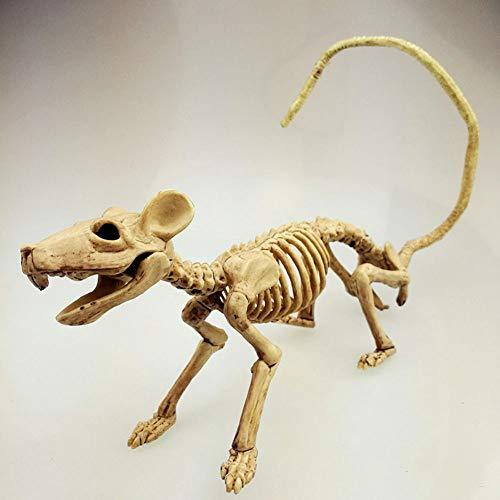 Halloween Skelett Katze Hund Maus Stütze Knochen Party Shop Dekoration Horror Dekoration,Mouse