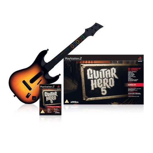 Guitar Hero 5 - Guitar Bundle (PS2) [Importación inglesa]
