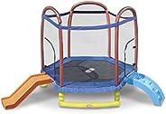 Little Tikes 7 Foot C.Slide Trampoline C16 - Multi color