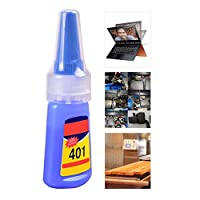 Dreameryoly Multi-purpose 401 strong Liquid Glue For Plastic/Wood Super Glue Multi-purpose For Office/School Liquid Glue 20g