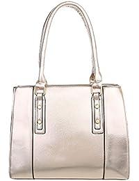 Damen Tasche Handtasche Schultertaschen Umhängetasche Shopper Tasche Henkeltasche Beuteltasche Gold Schuhcity24 V2lytzV