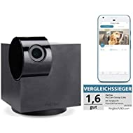PetTec Cam Snoop Cube, App Driven Pet Smart Camera with Noise Detection, Full HD 1080p, 360° View, Microphone & Speakers, for IOS & Android
