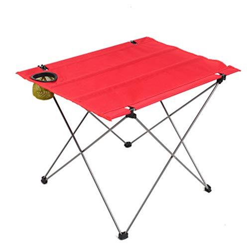 YXCXC Faltbarer Tisch Im Freien Leichter Eisentisch Tragbarer Heller Klapptischgrill-Stallcamping
