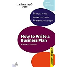 How to Write a Business Plan (Creating Success) by Brian Finch (2010-02-01)