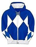 Power Rangers Hooded Kostüm Sweatshirt