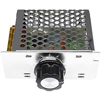 ANGEEK AC 220 V 4000 W SCR R/égulateur de tension variateur de moteur thermostat module contr/ôleur de vitesse