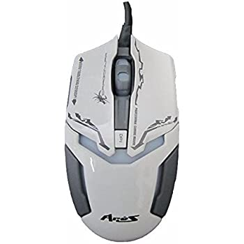 cd3c32535b4 Dragonwar ELE-G10 Aries Blue Sensor Gaming Mouse with Macro Function (White)