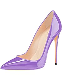 Chris-T Women Fashion High Heel Pointed Toe Stiletto Dress Pumps For Formal Wedding Patry Size 3-11 UK