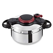 Tefal P4624966 Clipso Minut Easy Pressure Cooker, Silver, W 40.2 x H 29.8 x D 26.6 cm, 9Liter