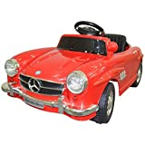 Toyshine Mercedes Vintage Battery Powered Ride-On Toy Remote Control Modes Vehicle with Headlights