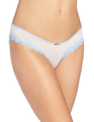 HoneyDew Intimates Damen Panty Emily Sheer Micro Hipster - Mehrfarbig - X-Groß - Hipster Sheer Panties