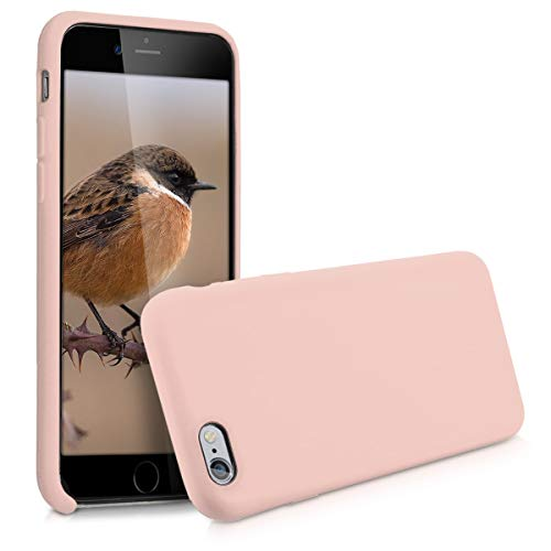 kwmobile Apple iPhone 6 / 6S Hülle - Handyhülle für Apple iPhone 6 / 6S - Handy Case in Altrosa
