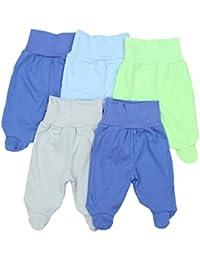 TupTam Pantalón con Pies de Bebé Paquete de 5 pies