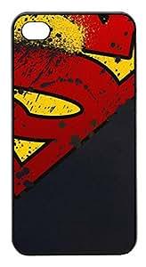Coque Iphone 4/4S - Logo super heroes man - Ref 501