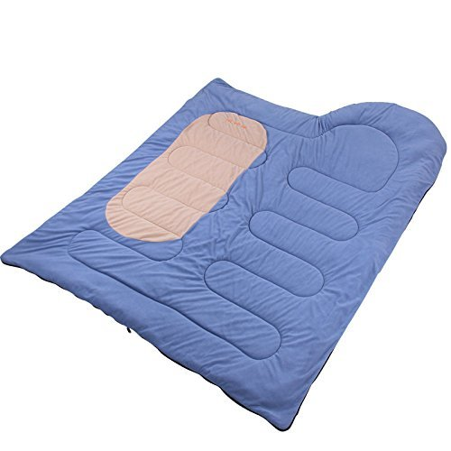 41918mli9DL. SS500  - Camping sleeping bags, Thick winter sleeping bag HLY-S8899H warm fleece envelope camping sleeping bag (blue) ,Sleeping bag