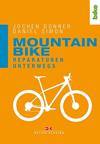 Mountainbike. Reparaturen unterwegs