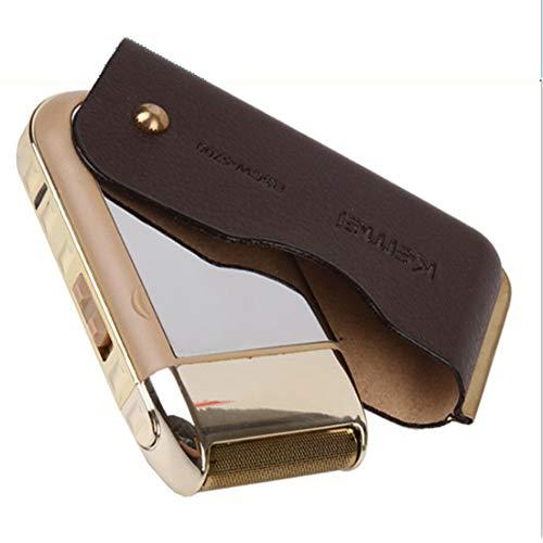 Men es Portable Electric Foil Shaver Pocket Shaving Razors mit Pop-up Präzisionspilter für Reisen Electric Pocket