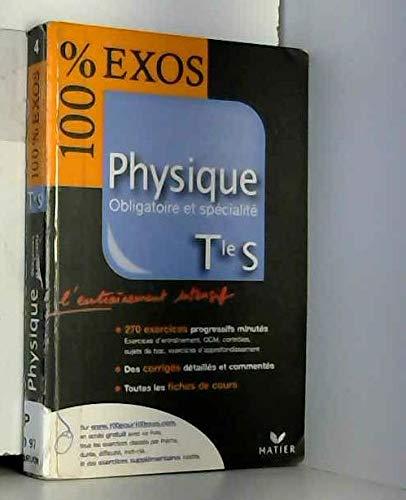 Physique Tle S : Obligatoire et spécialité
