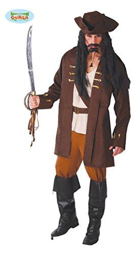 Guirca 84701 - Capitan Pirata Adulto Talla M 48-50