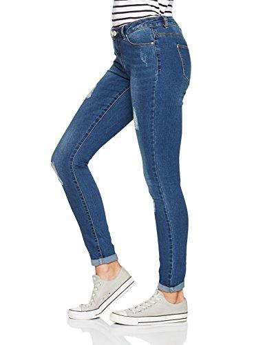 ONLY Damen Skinny Jeans Blau (Medium Blue Denim)