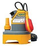 Hozelock Flood Pump Self Priming Max Flow 8000 L Per Hour with 10