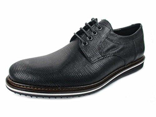 LLOYD  27-606-40, Chaussures de ville à lacets pour homme Noir