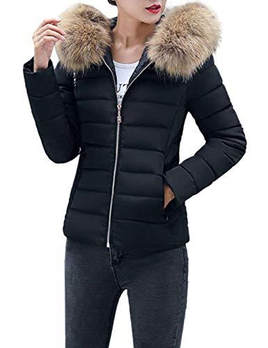 Serface Damen Winterjacke Wintermantel   Lange Daunenjacke Jacke Outwear Frauen Winter Warm   Daunenmantel Arbeiten Sie Festen beiläufigen dickeren dünnen Mantel um