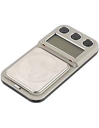 Semoic Basculas de pesaje de Joya de Oro de Bolsillo Digital de Doble Precision 100/