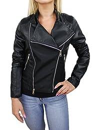 95084e76b3 Amazon.it: chiodo ecopelle: Abbigliamento