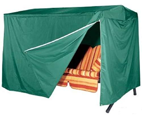 GRASEKAMP Qualität seit 1972 Schutzhülle Abdeckung Schutzhaube 3 Sitzer Hollywoodschaukel Gartenschaukel Grün