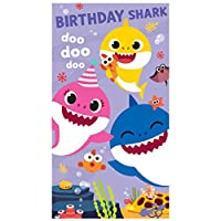 Baby Shark Birthday Card
