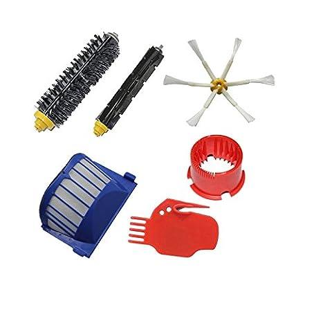 TOP-MALL kit de remplacement pour aspirateur iRobot Roomba aspirateur Robot de nettoyage 660 620