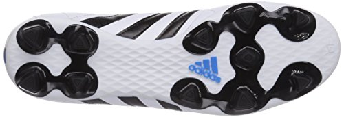 adidas Performance 11questra Firm Ground, Chaussures de Football Homme Blanc (ftwr White/core Black/solar Blue2 S14)