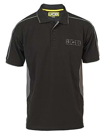Jcb Workwear Men 39 S Fenton Logo Polo Shirt Xl 44