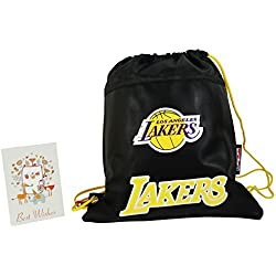 NBA Los Angeles Lakers Mochila Bolso Escolar