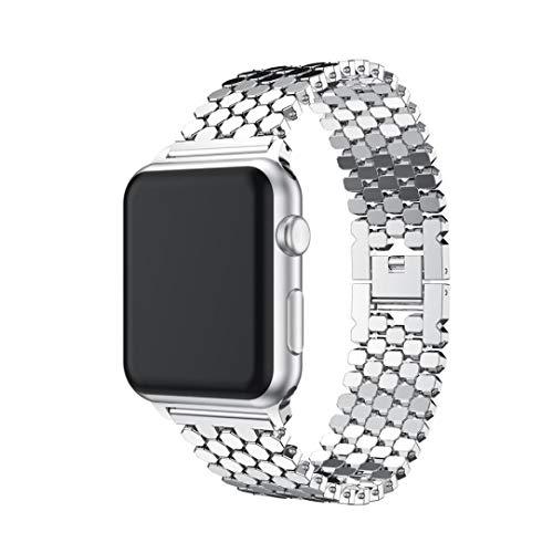 Bestow Iwatch Apple Watch 42MM Banda de Reloj de Pulsera de Acero ... d915b3515413