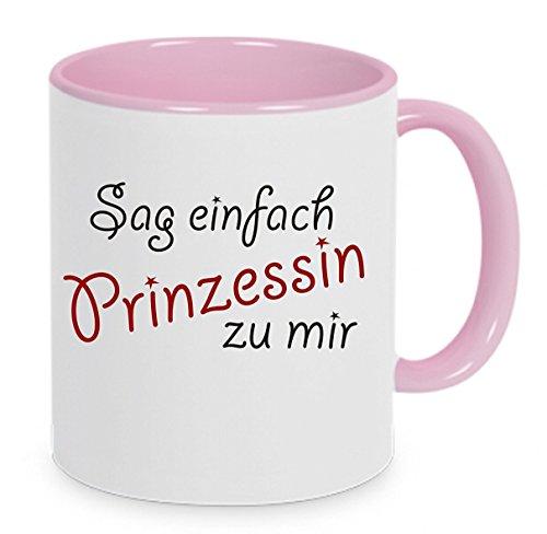 ' Sag einfach Prinzessin zu mir... ' - Kaffeetasse mit Motiv, bedruckte Tasse mit Sprüchen oder...