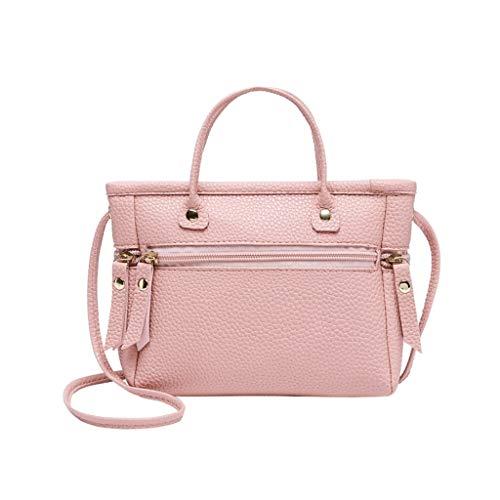 Ledertasche, Schultertasche, Geschenk, Handgefertigte Tasche,Frauen-Damen-Art- und Weisefestes Crossbody Kurier-Handtaschen-Geldbeutel-Totes-Schulter-Beutel ()