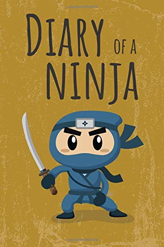Diary of a Ninja: Notebook for boys and girls from 6 to 12 years old / Ninja Orange