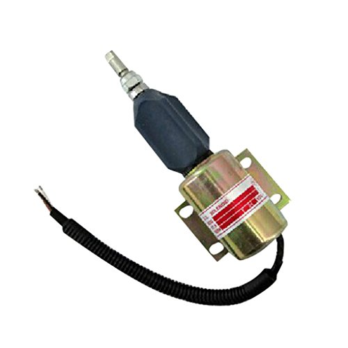 Preisvergleich Produktbild 2001es-24 flammabriss Magnetschalter 24 V - sinocmp für Cummins bf6 m1015 bf8 m1015 Stop Magnetventil 3 Monate Garantie