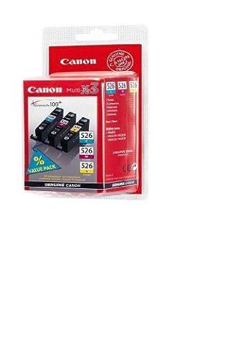 3 Original Canon Druckerpatronen für Canon Pixma MX 715 Tintenpatronen (Cyan/Yellow/Magenta)
