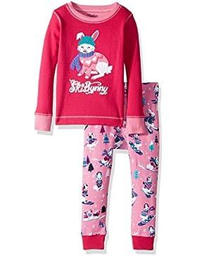 Hatley Long Sleeve Waffle Appliqué Pyjama Sets, Set Pigiama Bambina