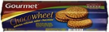 Gourmet - Chocowheel - Galletas rellenas sabor chocolate 250 gr - Pack de 5 (Total 1250 grams)