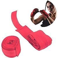 1pcs algodón Vendaje Boxeo Vendaje de la muñeca de la Mano del Abrigo de Combate Proteger los Guantes de Boxeo tailandés de Muay de Entrenamiento