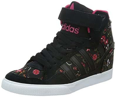 adidas Originals Extaball UP, Damen Sneakers, Schwarz (Core Black/Core Black/Vivid Berry S14), 38 EU (5 Damen UK)