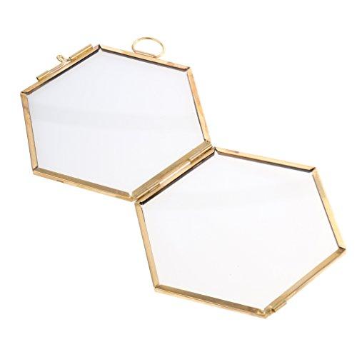 Bilder Eisen-Hexagon-Gitter-Regal-Kombinations-Regal für