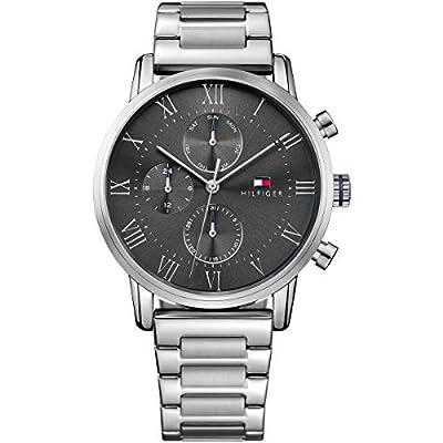 Tommy Hilfiger 1791397, Reloj para Hombre, Gris