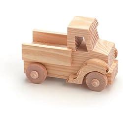 Darice-Plantilla para grabar camión-madera juguete Kit, acrílico, multicolor
