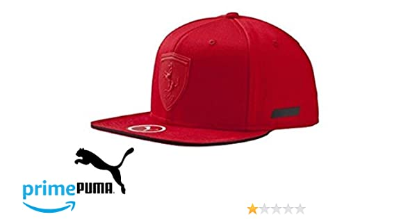 6883196a370 Puma Kids Ferrari Flatout Cap 052903 02B  Amazon.co.uk  Sports   Outdoors