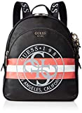 Guess - Detail Large Backpack, Mujer, Multicolor (Black Multi), 28x34x12 cm (W x H L)